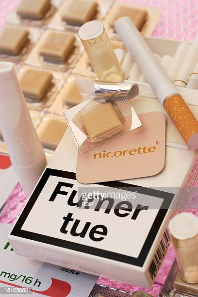 Nicotine Inhaler And Cartridges Patch And Gum Nicotine Substitute Products