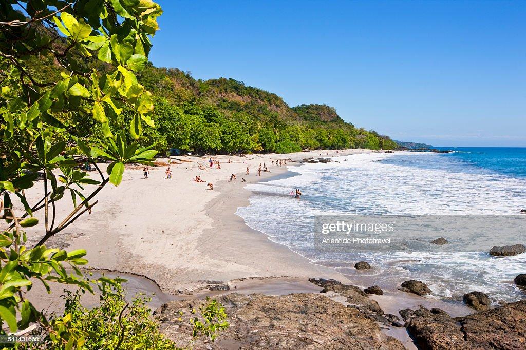 Nicoya peninsula - Montezuma is a little town on the Pacific ocean : Stock Photo