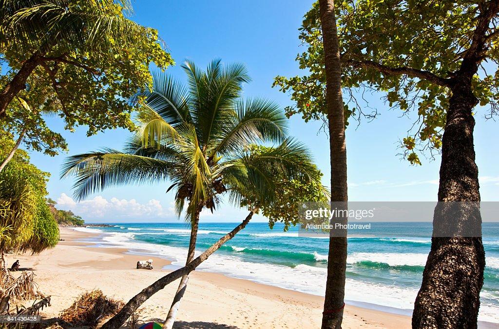 Nicoya peninsula - Tambor. Ocean view : Stock Photo
