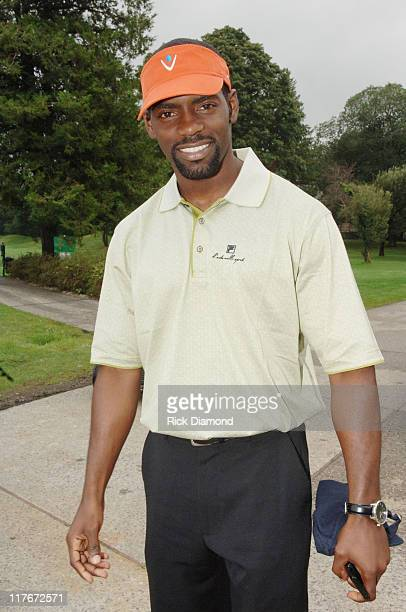 Nicoye Banks during Entertainment Golf Association's 4th Annual Celebrity Golf Tournament Presented by Vonage at Minisceongo Golf Club in Pomona, New...