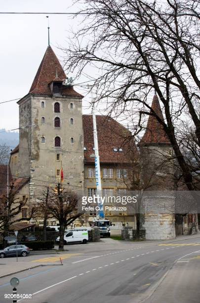 Nidau Castle, Canton Bern, Switzerland