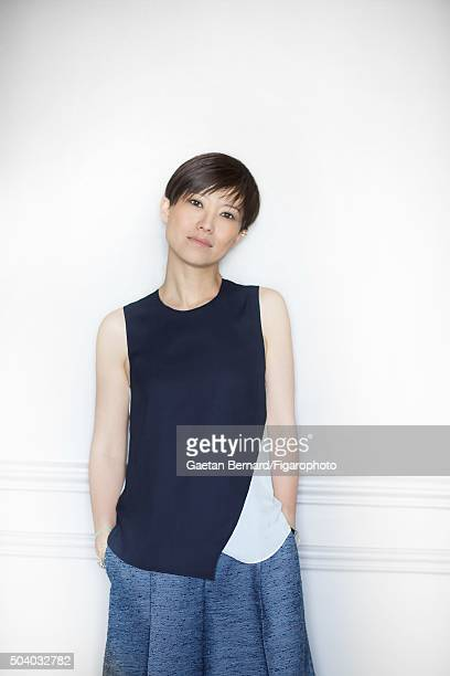 Niece and creative director of Jimmy Choo Sandra Choi is photographed for Madame Figaro on July 7 2015 in France PUBLISHED IMAGE CREDIT MUST READ...