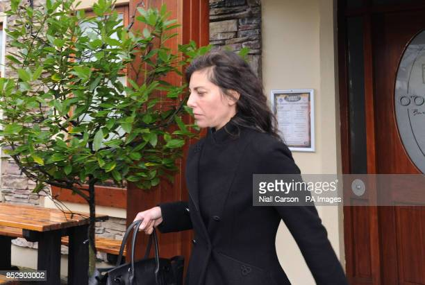 Niece of fashion designer Ralph Lauren Jennifer Lauren leaving a sitting of Killaloe District Court held in the downstairs function room of the Brian...