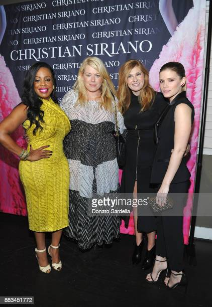 Niecy Nash Amanda de Cadenet Connie Britton and Kate Mara attend Christian Siriano's celebration of the launch of his new book 'Dresses To Dream...