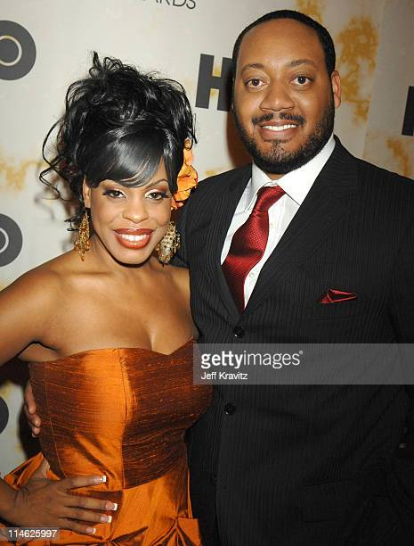 Niecy Nash and Cedric Yarbrough during 2006 TNT Black Movie Awards HBO After Party in Los Angeles California United States