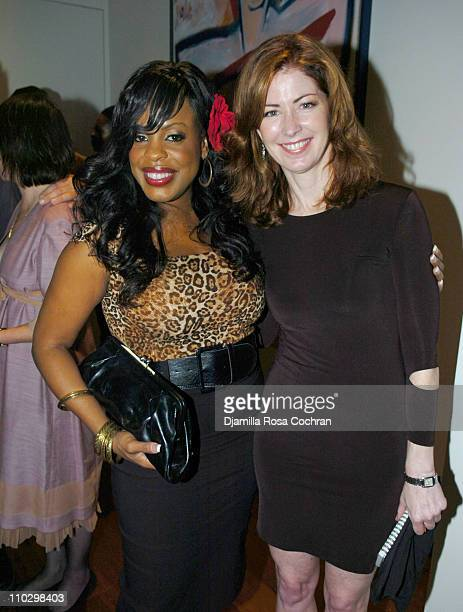"""Niecy Nash and Dana Delany during W Magazine's """"The New York Affair"""" Party at Penthouse Four in New York City, New York, United States."""