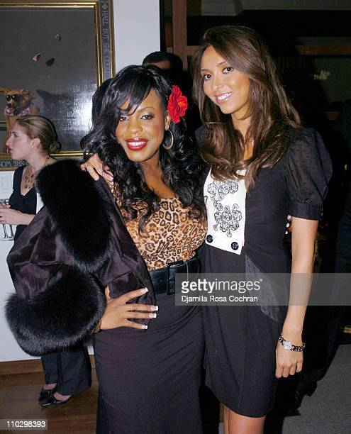 """Niecy Nash and Giuliana DePandi during W Magazine's """"The New York Affair"""" Party at Penthouse Four in New York City, New York, United States."""