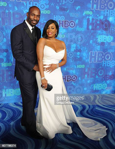 Niecy Nash and husband Jay Tucker arrive at HBO's Post Emmy Awards Reception at The Plaza at the Pacific Design Center on September 18 2016 in Los...