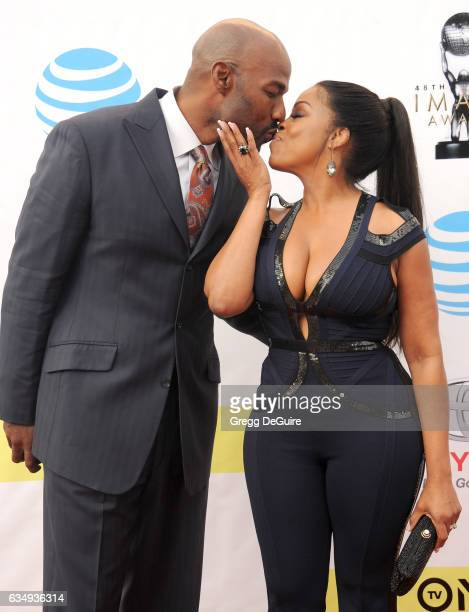 Niecy Nash and Jay Tucker arrive at the 48th NAACP Image Awards at Pasadena Civic Auditorium on February 11 2017 in Pasadena California