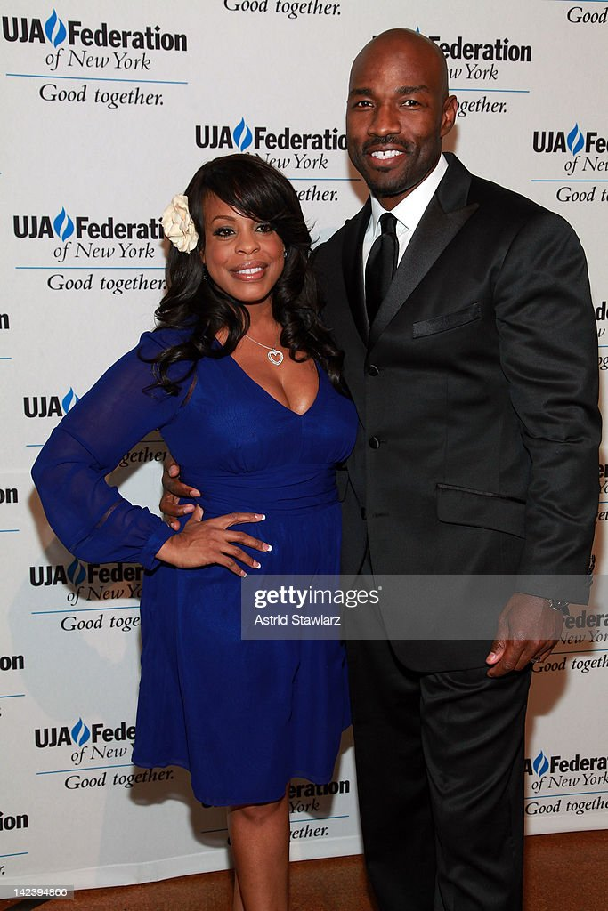 Niecy Nash and Jay Tucker attend the 2012 UJA-Federation Of New York's Leadership Awards Dinner at 583 Park Avenue on April 3, 2012 in New York City.