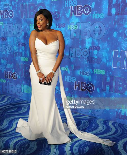 Niecy Nash arrives at HBO's Post Emmy Awards Reception at The Plaza at the Pacific Design Center on September 18 2016 in Los Angeles California