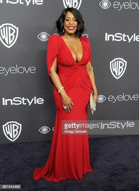 Niecy Nash arrives at the 18th Annual Post-Golden Globes Party hosted by Warner Bros. Pictures and InStyle at The Beverly Hilton Hotel on January 8,...