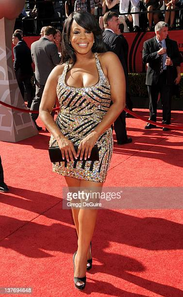 Niecy Nash arrives at the 2010 ESPY Awards at the Nokia Theatre LA Live on July 14 2010 in Los Angeles California