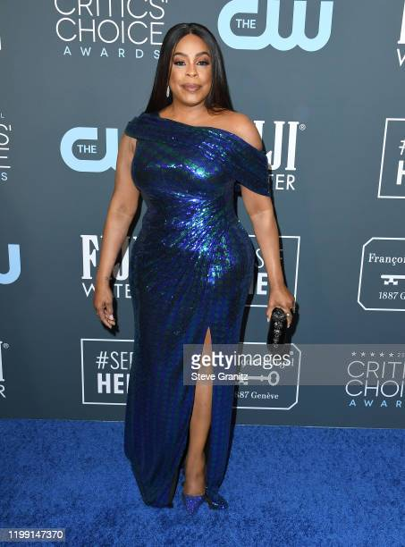 Niecy Nash arrives at the 25th Annual Critics' Choice Awards at Barker Hangar on January 12, 2020 in Santa Monica, California.
