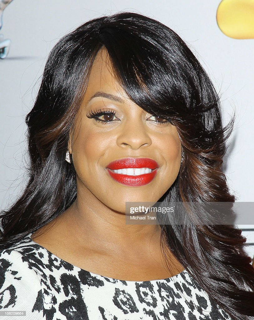 Niecy Nash arrives at the 44th NAACP Image Awards nominations announcement held at The Paley Center for Media on December 11, 2012 in Beverly Hills, California.
