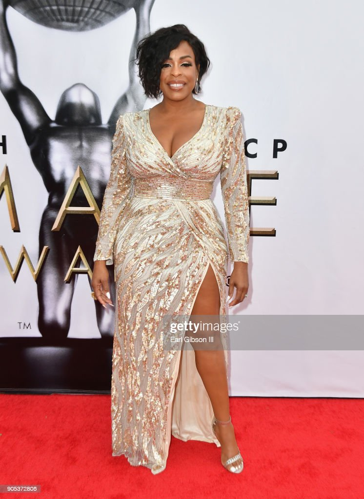 Niecy Nash at the 49th NAACP Image Awards on January 15, 2018 in Pasadena, California.
