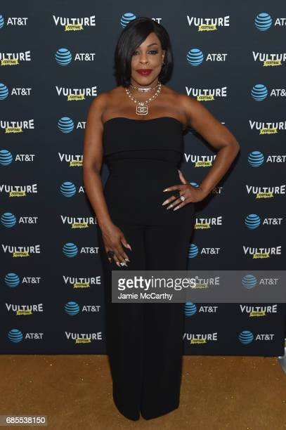 Niecy Nash attemds the Vulture Festival Opening Night Party Presented By ATT at the Top of The Standard Hotel on May 19 2017 in New York City