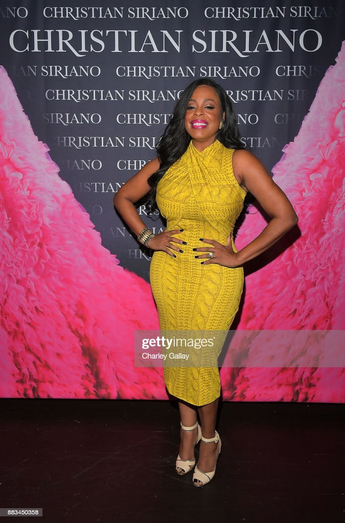 Niecy Nash attends Christian Siriano's celebration of the launch of his new book 'Dresses To Dream About' in Los Angeles at Chateau Marmont on November 30, 2017 in Los Angeles, California.