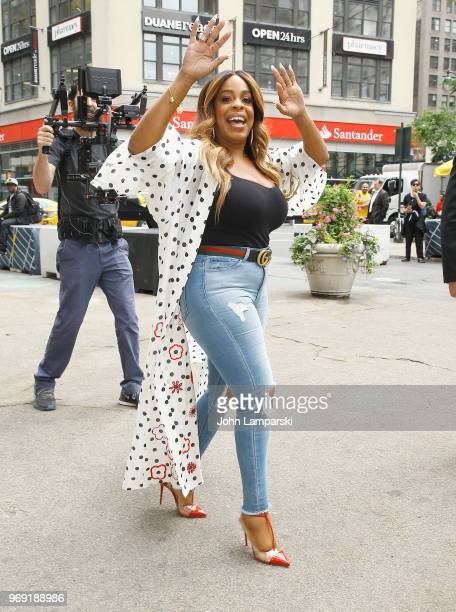 Niecy Nash attends #ClawsUp Tour New York at Herald Square on June 7 2018 in New York City