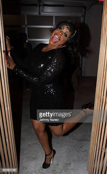 Niecy Nash attends Eva Marcille Pigford's 25th birthday celebration at EZ Studios on October 31 2009 in New York City