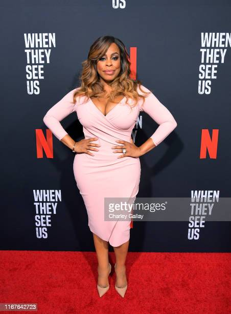 Niecy Nash attends Netflix's When They See Us Screening Reception at Paramount Theater on the Paramount Studios lot on August 11 2019 in Hollywood...