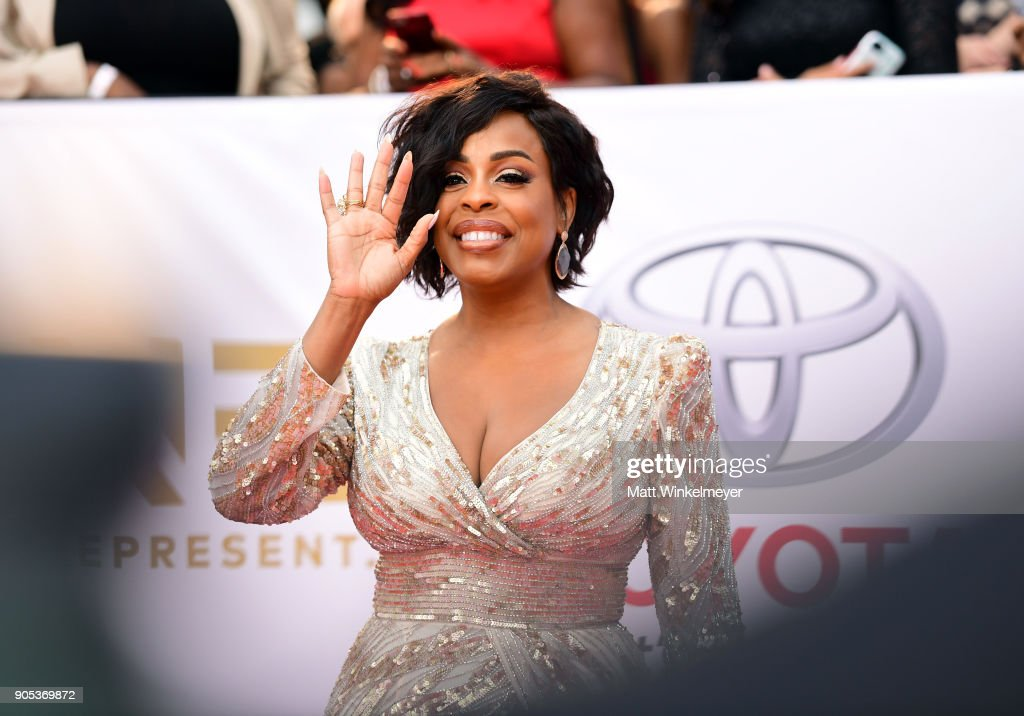 Niecy Nash attends the 49th NAACP Image Awards at Pasadena Civic Auditorium on January 15, 2018 in Pasadena, California.