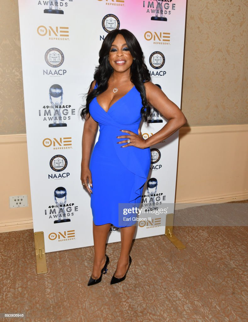 Niecy Nash attends the 49th NAACP Image Awards Nominees' Luncheon at The Beverly Hilton Hotel on December 16, 2017 in Beverly Hills, California.