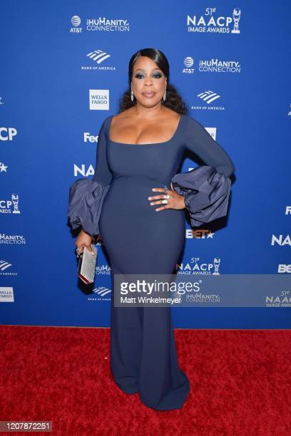 Niecy Nash attends the 51st NAACP Image Awards nontelevised Awards Dinner on February 21 2020 in Hollywood California
