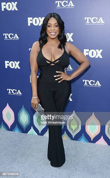 Niecy Nash attends the FOX Summer TCA Press Tour on August 8 2016 in Los Angeles California