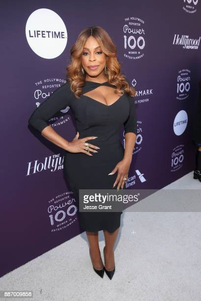 Niecy Nash attends The Hollywood Reporter's 2017 Women In Entertainment Breakfast at Milk Studios on December 6 2017 in Los Angeles California