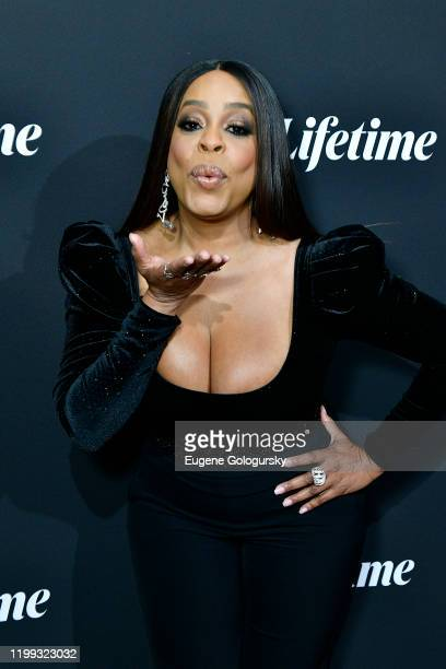 """Niecy Nash attends the Lifetime special screening: Robin Roberts Presents """"Stolen By My Mother, The Kamiyah Mobley Story""""on January 13, 2020 in New..."""