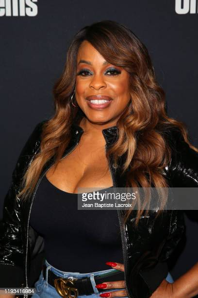 Niecy Nash attends the premiere of A24's Uncut Gems at The Dome at Arclight Hollywood on December 11 2019 in Hollywood California