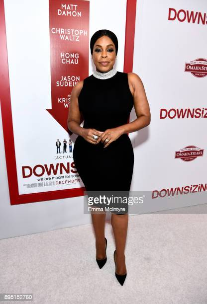 Niecy Nash attends the premiere of Paramount Pictures' 'Downsizing' at Regency Village Theatre on December 18 2017 in Westwood California