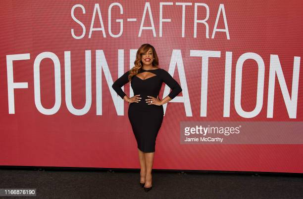 Niecy Nash attends the SAGAFTRA Foundation Conversations With When They See Us at The Robin Williams Center on August 08 2019 in New York City