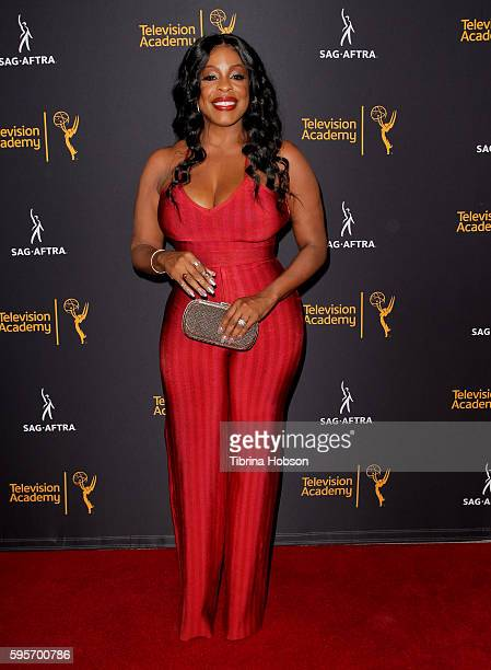 Niecy Nash attends the Television Academy and SAGAFTRA's 4th annual Dynamic and Diverse Celebration at Saban Media Center on August 24 2016 in North...