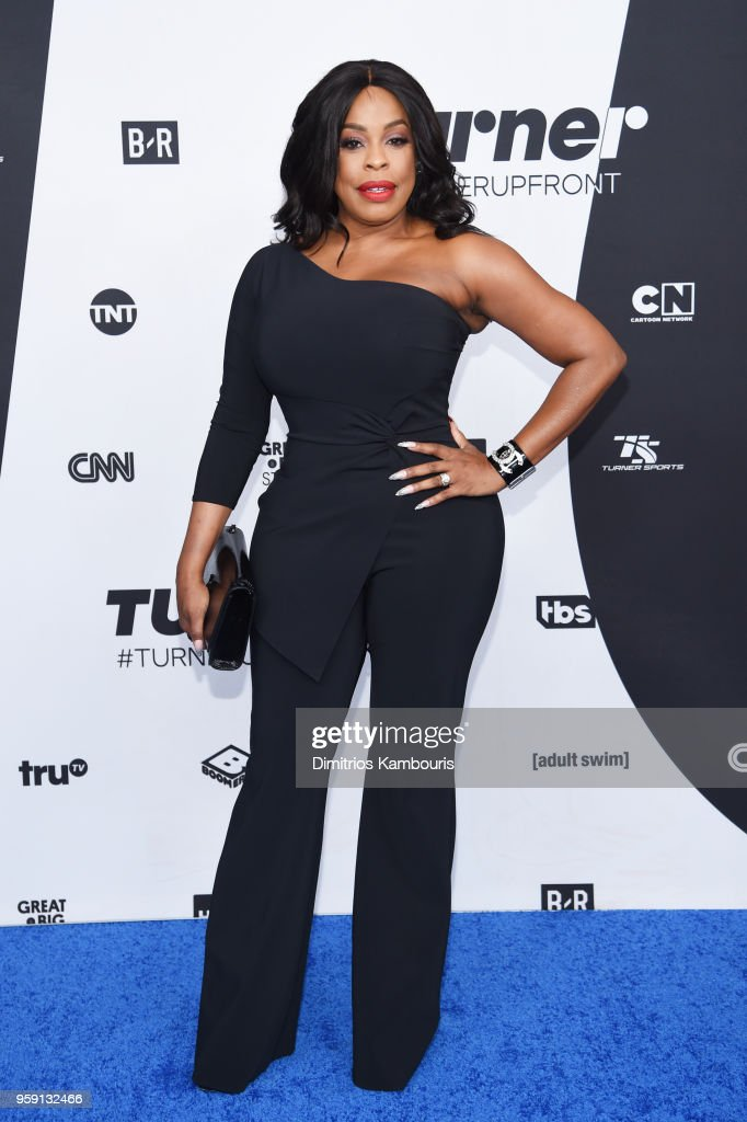 Niecy Nash attends the Turner Upfront 2018 arrivals on the red carpet at The Theater at Madison Square Garden on May 16, 2018 in New York City. 376263