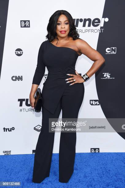 Niecy Nash attends the Turner Upfront 2018 arrivals on the red carpet at The Theater at Madison Square Garden on May 16 2018 in New York City 376263
