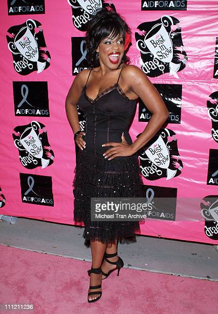 Niecy Nash during 4th Annual Best in Drag Show to Benefit Aid for AIDS at WilshireEbell Theater in Los Angeles California United States
