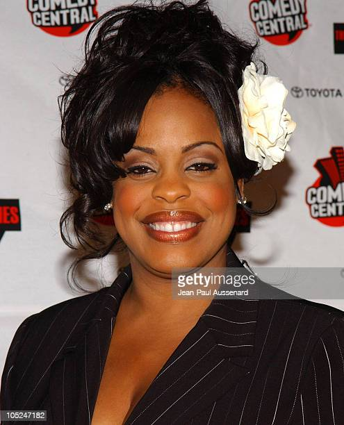 Niecy Nash during Comedy Central's First Annual Commie Awards Arrivals at Sony Studios in Culver City California United States