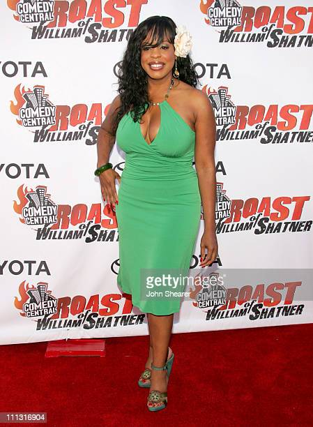 Niecy Nash during Comedy Central's Roast of William Shatner Arrivals at CBS Studio Center in Studio City CA United States
