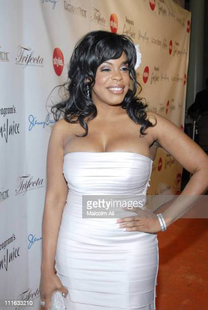 Niecy Nash during Seagram's and The Style Network present Niecy Nash's Birthday Bash February 28 2007 at Trifecta in Los Angeles California United...