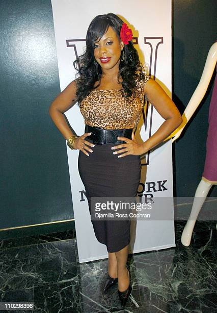 """Niecy Nash during W Magazine's """"The New York Affair"""" Party at Penthouse Four in New York City, New York, United States."""