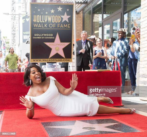 Niecy Nash Honored with Star On The Hollywood Walk Of Fame on July 11 2018 in Hollywood California