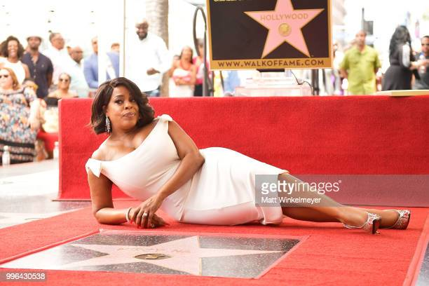 Niecy Nash is honored with a star on the Hollywood Walk Of Fame on July 11 2018 in Hollywood California