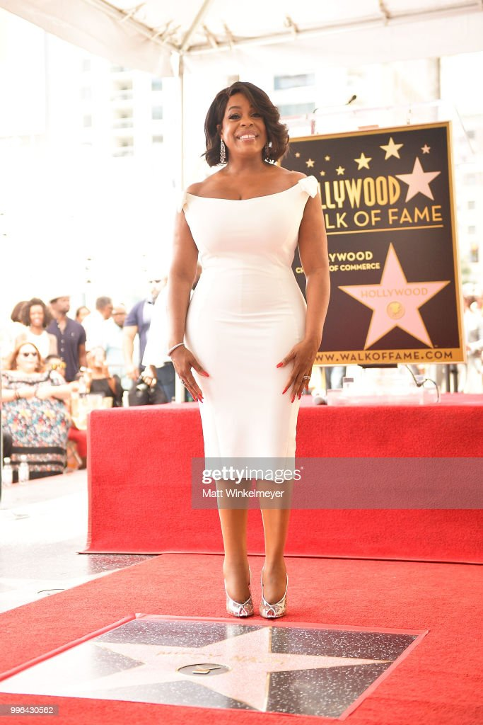 Niecy Nash is honored with a star on the Hollywood Walk Of Fame on July 11, 2018 in Hollywood, California.