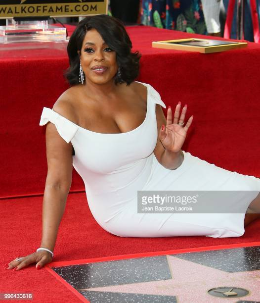 Niecy Nash is honored with Star on The Hollywood Walk of Fame on July 11 2018 in Los Angeles California
