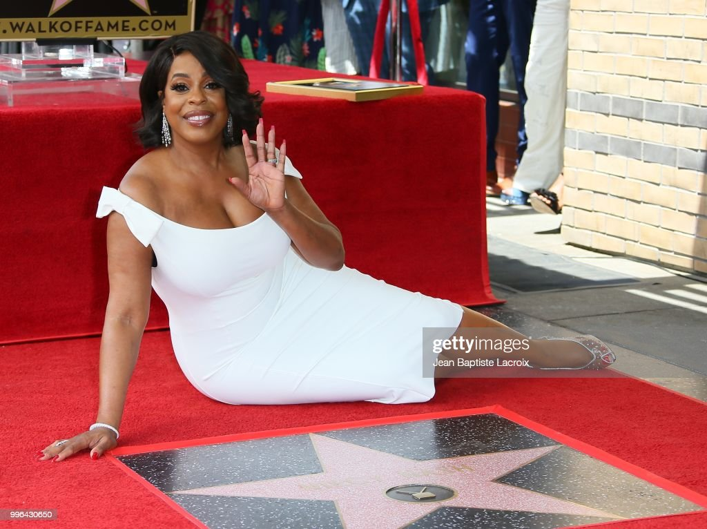 Niecy Nash is honored with Star on The Hollywood Walk of Fame on July 11, 2018 in Los Angeles, California.