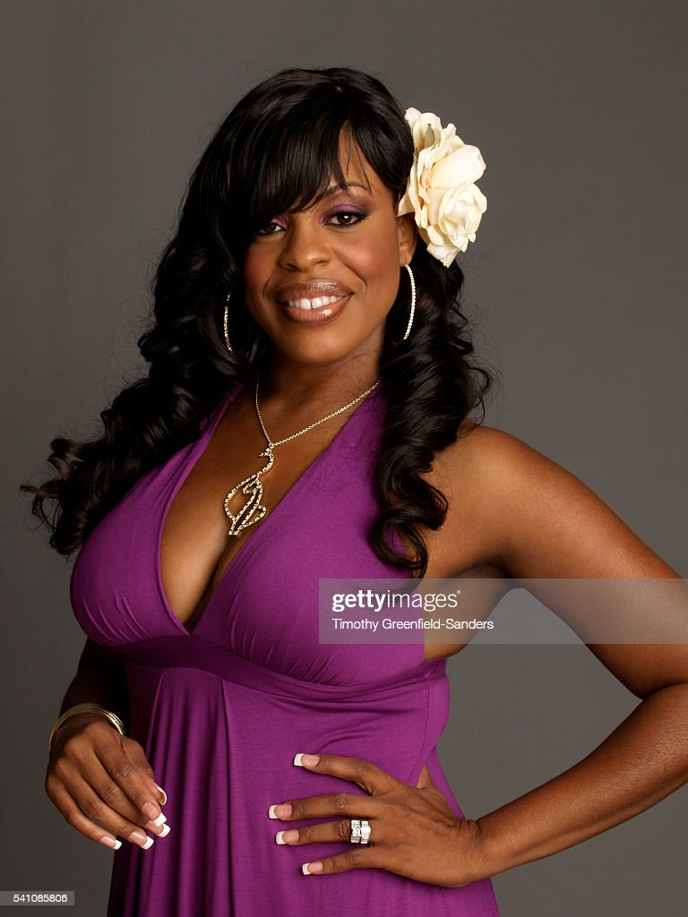 Niecy Nash is photographed during Olympus Fashion Week in New York on September 8, 2006.