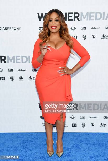 Niecy Nash of TNT's Claws attends the WarnerMedia Upfront 2019 arrivals on the red carpet at The Theater at Madison Square Garden on May 15, 2019 in...