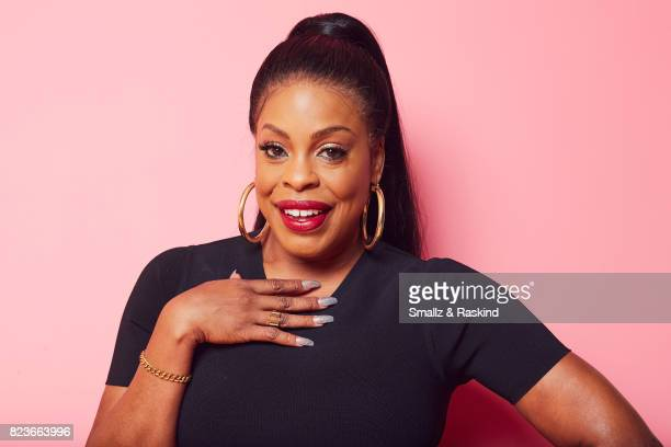 Niecy Nash of Turner Networks 'TNT TBS's Leading Women of Comedy and Drama' poses for a portrait during the 2017 Summer Television Critics...